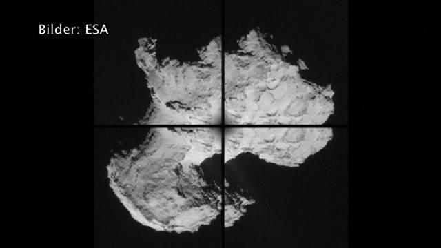 Sauerstoff auf Komet Tschuri