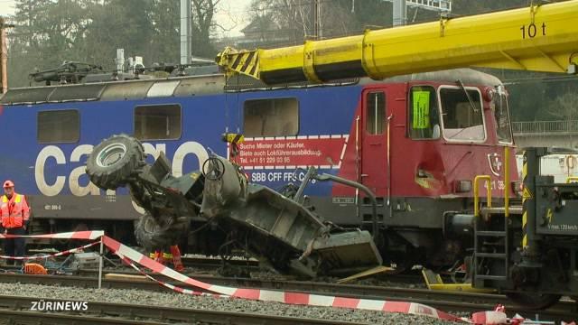 Tödliche Zugkollision in Winterthur