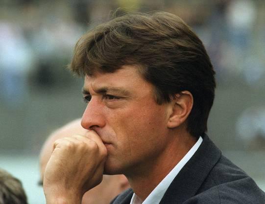 Marco Schällibaums Trainerkarriere in Bildern: Seine erste Trainerstation heisst Nyon: Von 1995 bis 1997 trainiert er Stade Nyonnais.