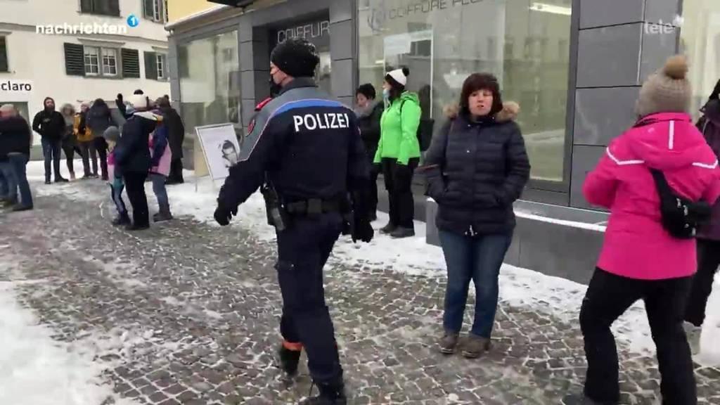 Tolerante Schwyzer Polizei