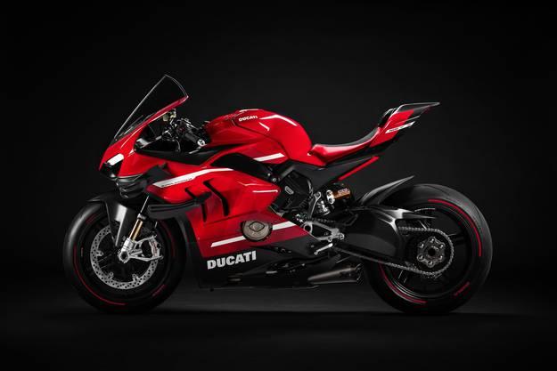 Viel beachtete Weltpremiere am Eröffnungsabend der Swiss-Moto: die Ducati Panigale V4 Superleggera.