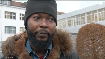 Patrick Kabeya rettete sich via Fenster und Regenrinne aus dem brennenden Haus.