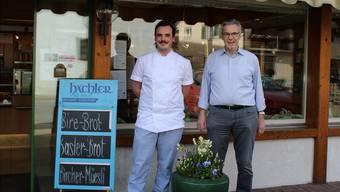 «Ich bin extrem froh, das Umbau-Projekt mit meinen Vater realisieren zu können»: Daniel (l.) und Max Hächler.