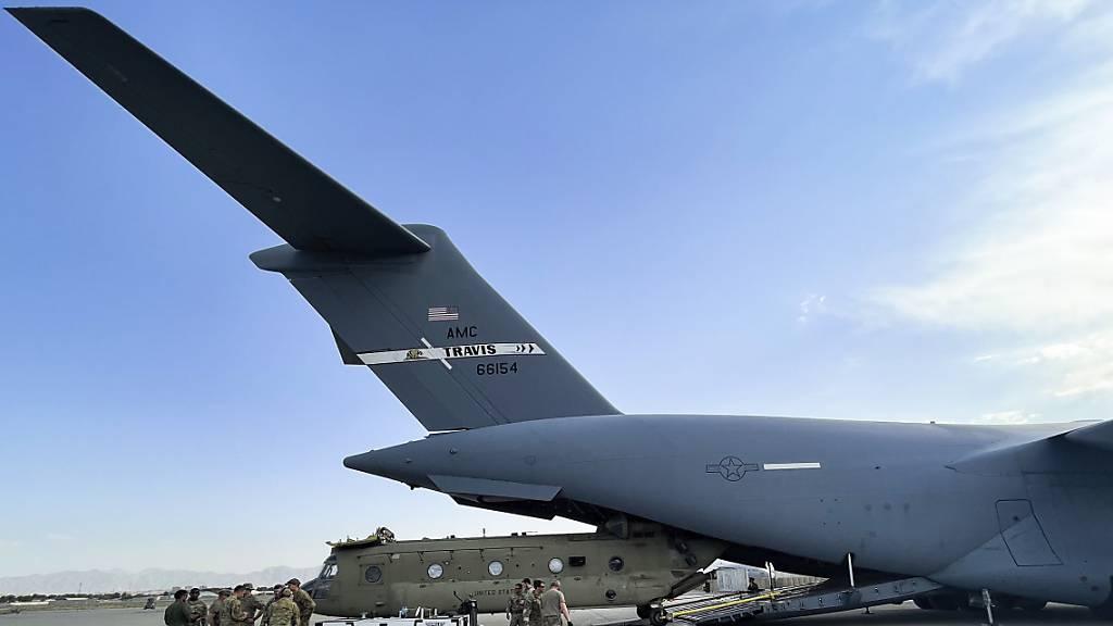 USA beenden Truppenabzug aus Afghanistan