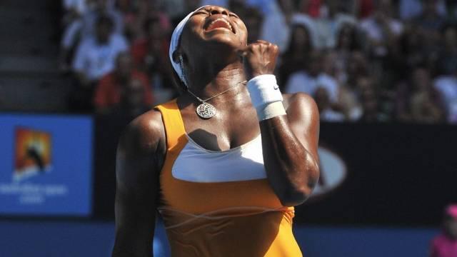 Serena Williams steht in Melbourne zum fünften Mal im Final