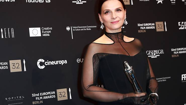 """Die Auszeichnung """"Europäischer Beitrag zum Weltkino"""" ging am Samstagabend an Juliette Binoche."""