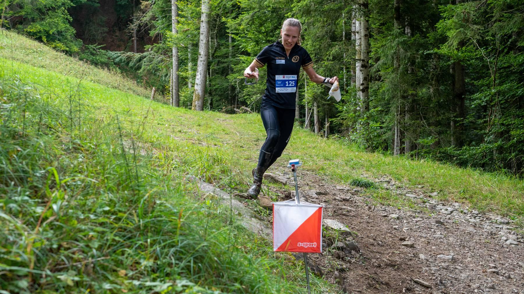 Natalia Gemperle, Siegerin bei Damen Elite. Foto von Susi Schlatter.