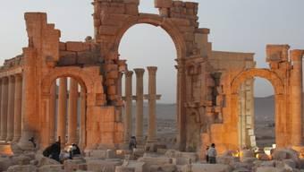 Als der islamische Faschismus noch nicht grosse Teile Syriens und des Iraks terrorisierte: Palmyra im Jahr 2010.