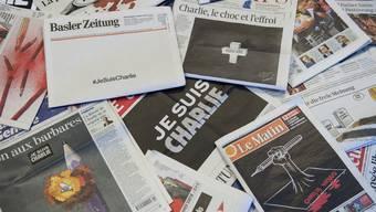 Schweizer Schlagzeilen am Tag nach dem Anschlag auf die Redaktion von «Charlie Hebdo» in Paris