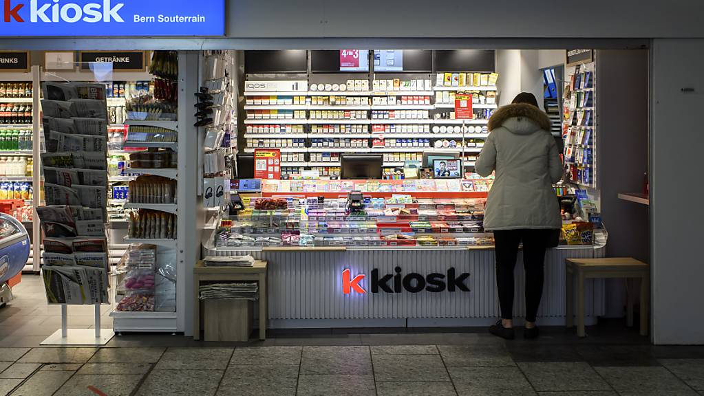 Im Juli wurden in der Schweiz weniger Nahrungsmittel, Getränke und Tabakwaren umgesetzt. (Symbolbild)
