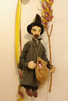 Die Figur des «Ättirüedi» als Marionette.
