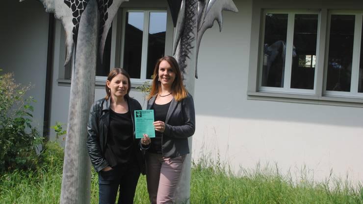 Claudia Dahinden (links) und Sabine Hofer freuen sich auf die neue Saison.