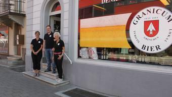 Das Geschäft befindet sich direkt neben dem bisherigen Eingang zum Brauereikeller