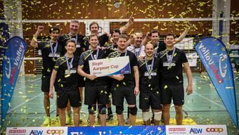 Mehrmals durfte sich der VBC Windisch den Aargauer Cupsieg sichern. Nun hat das Team zum ersten Mal den Achtelfinal des Schweizer Cup erreicht.