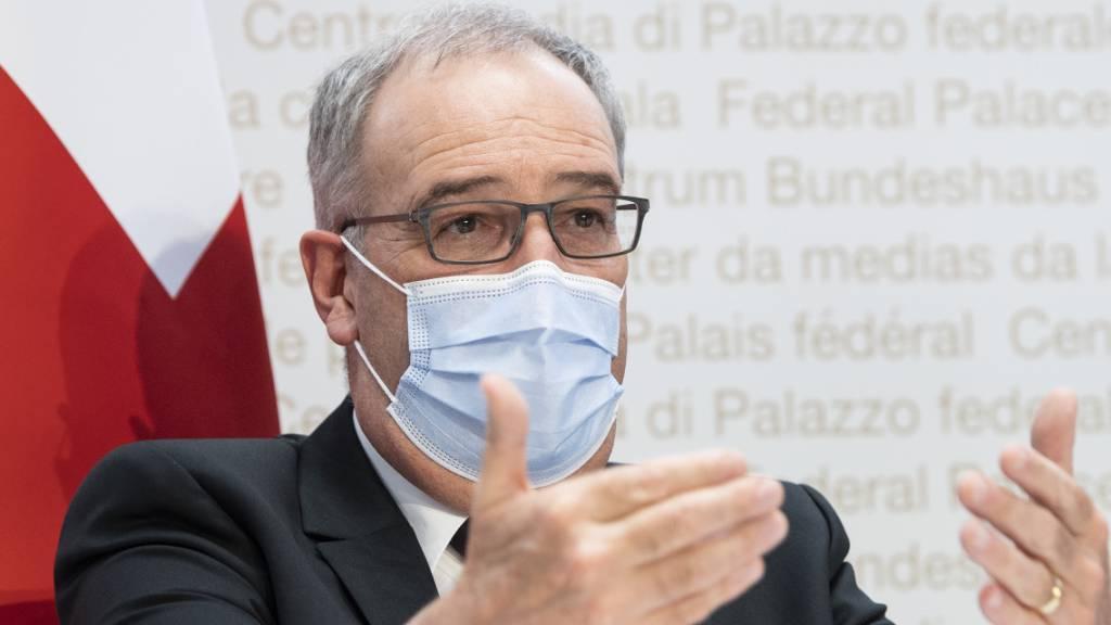 Parmelin: «Die Hürden beim Rahmenabkommen waren zu hoch»