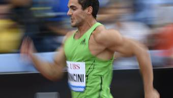 Blieb am Diamond-League-Meeting in London mit der Schweizer 4x100-m-Staffel unter den Erwartungen: Pascal Mancini (Archivbild)