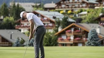 Schaffte die erste 59er-Runde auf der Europatour: Oliver Fisher (im Bild 2017 am Omega European Masters in Crans)
