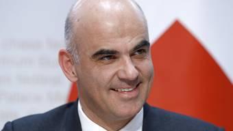 Die Einführung des elektronischen Patientendossiers muss nach den Worten von Gesundheitsminister Alain Beset gelingen.
