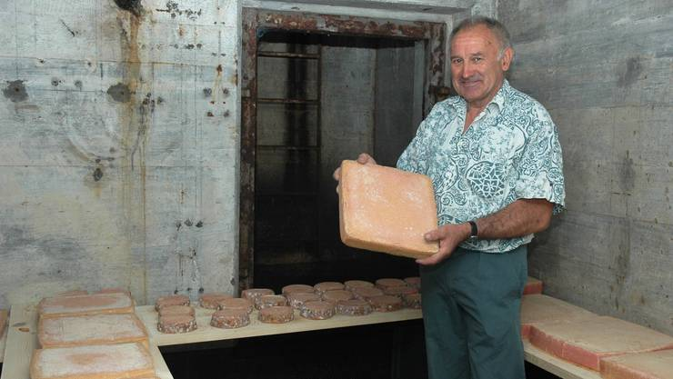 Raclette aus dem Weltkriegsbunker