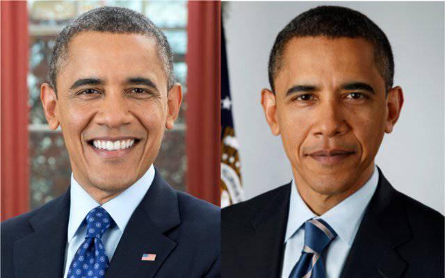 Obama heute und vor vier Jahren.