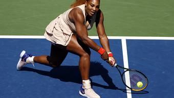 Harter Kampf mit gutem Ende: Serena Williams steht am US Open zum 17. Mal im Viertelfinal