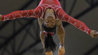 Simone Biles gewann an den Weltmeisterschaften in Doha vier Gold, eine Silber- und eine Bronzemedaille