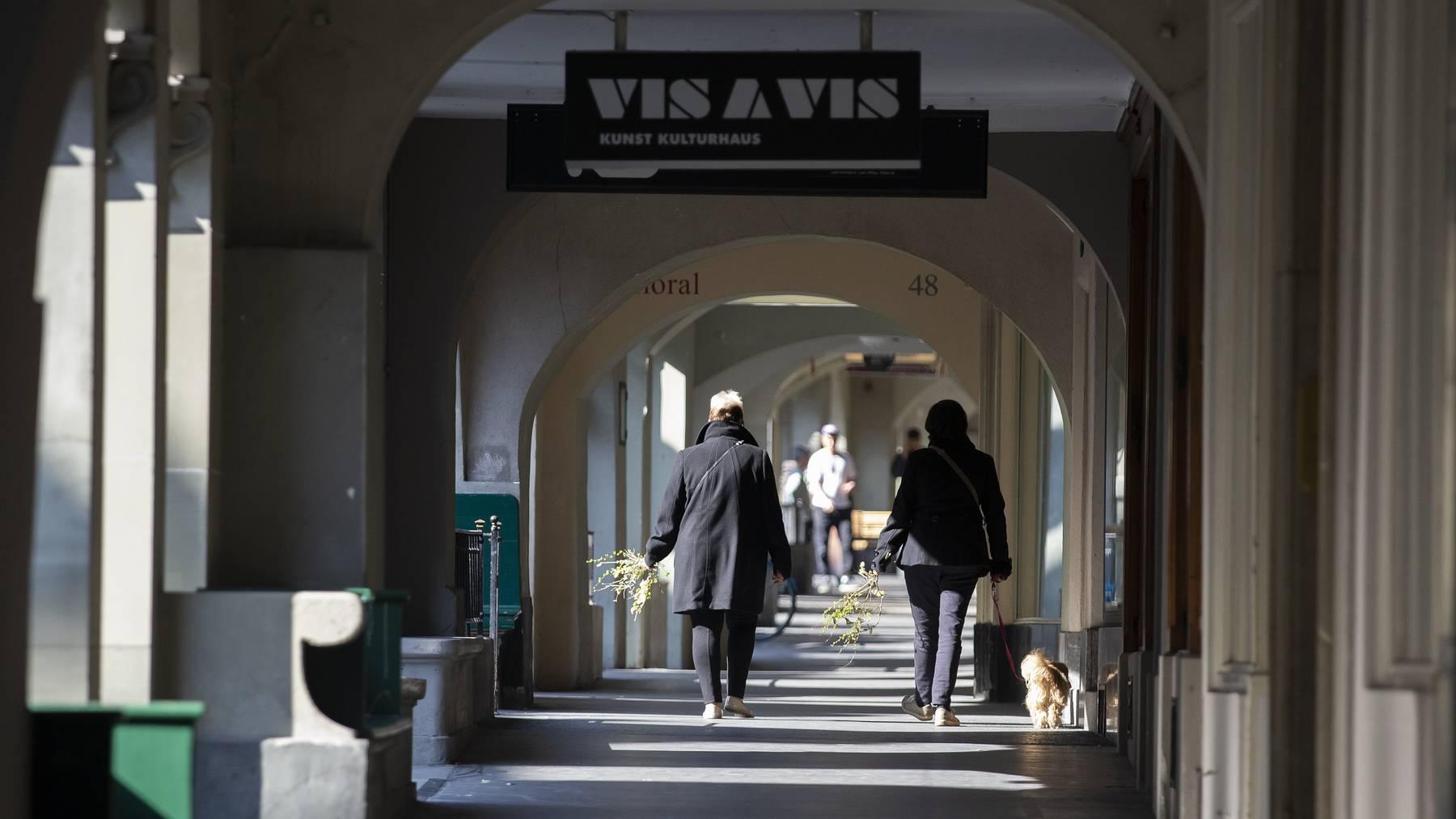 Die Schweizer flanierten während der letzten Wochen im Lockdown nur wenig. (Symbolbild)