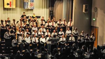 Gehören solche Bilder bald der Vergangenheit an? Die Sänger der Chorgemeinschaft Büttikon/Wohlen bei ihrem fulminanten Abschlusskonzert am 30. November letzten Jahres.