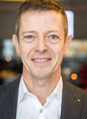 Der 52-Jährige ist seit 2006 Leiter des Standortmarketings in der Stadt Baden.