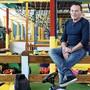 Christoph Gerber, führt den Indoorspielplatz Nilpfi seit 15 Jahren gemeinsam mit Judith Mattei. Ende Jahr ist Schluss.