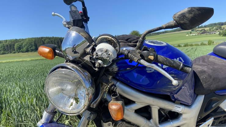 Am Motorrad entstand ein Sachschaden von zirka 4000 Franken.