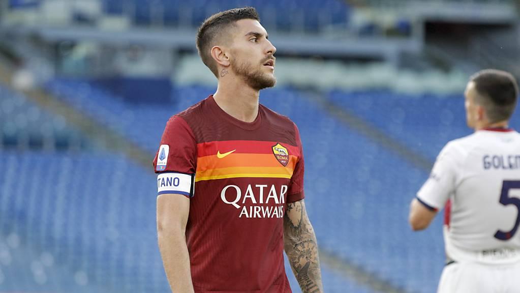 Ist für Romas Mittelfeldspieler Lorenzo Pellegrini die EM bereits zu Ende, bevor sie richtig begonnen hat?