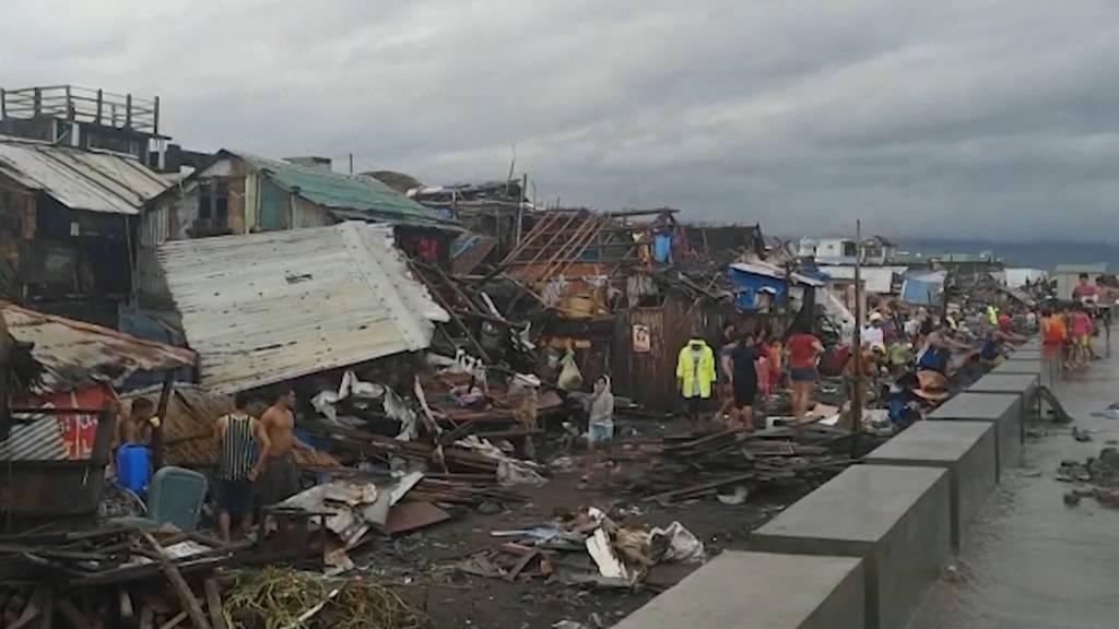 Mehrere Tote durch «Kammuri» auf den Philippinen