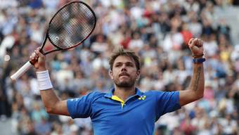 Stan Wawrinka will in Paris seinen vierten Grand-Slam-Titel holen.