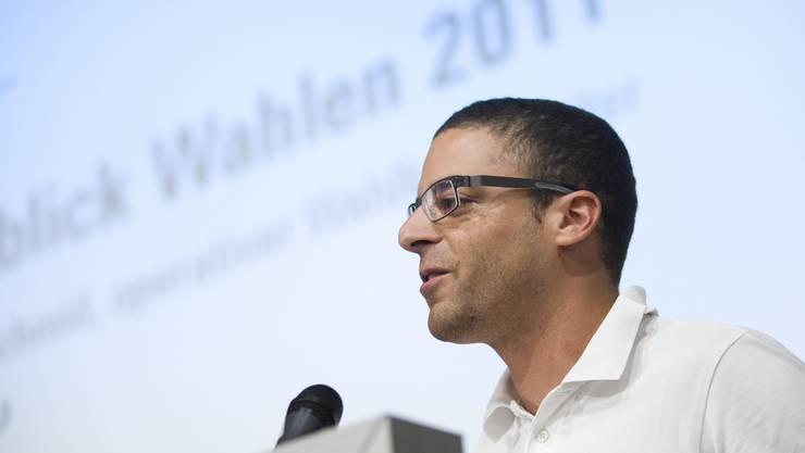 Seit 2009 war Charlie Schmid Geschäftsführer der FDP Kanton Solothurn; den Posten des Wahlkampfleiters behält er weiterhin. (Archiv)