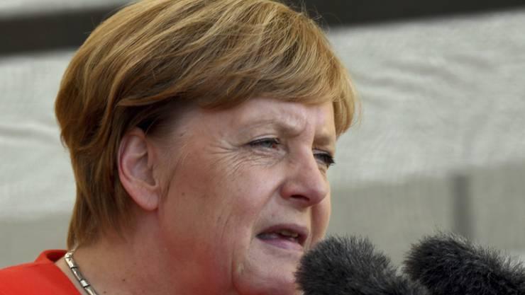 Stampfen, nicht püreren!  Das ist Angela Merkels Geheimrezept für Kartoffelsuppe.