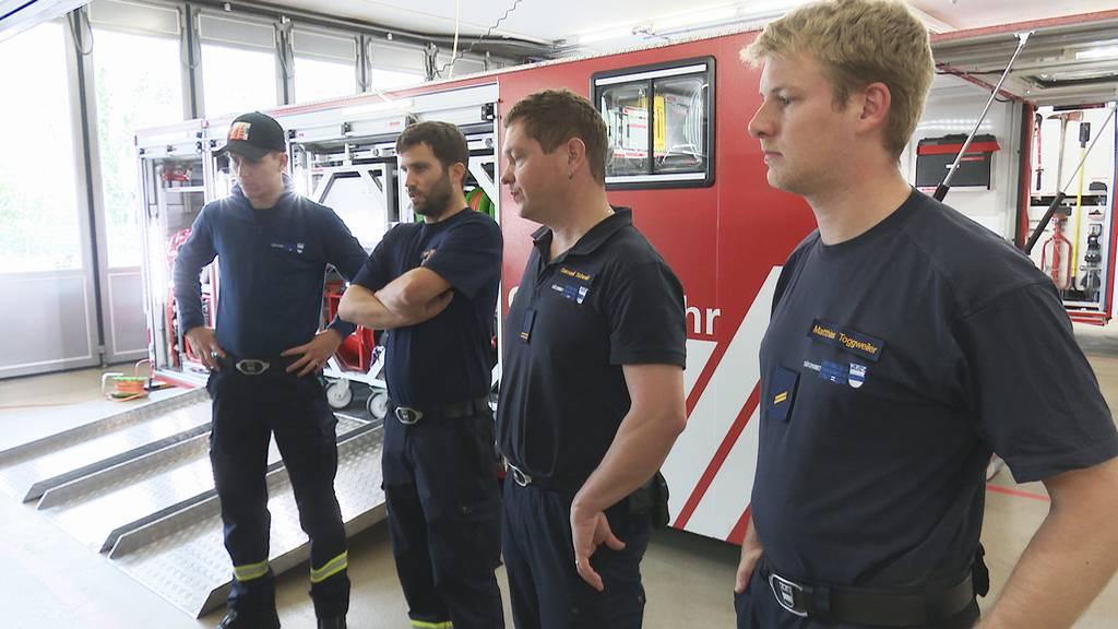 Der Feuerwehr Zug fehlt es an Nachwuchs