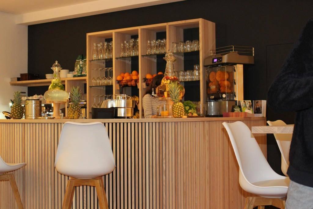 Das neue vegane Restaurant, die Leckerei (© FM1Today/Fabienne Engbers)