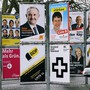 Wahlplakate in Zürich (Symbolbild)