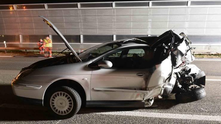 Wuchtiger Aufprall: Die Lenkerin des Lieferwagens wurde ins Spital gefahren.