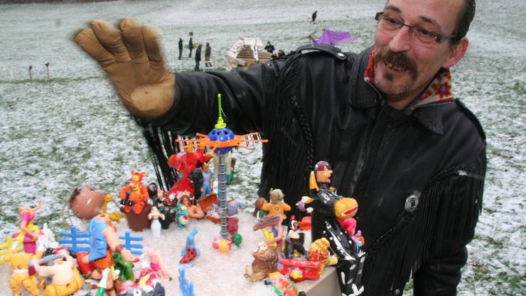Bunt: Der Briefkasten von Erich Frensdorff ist ein «Jungbrunnen für fantasielose Sesselfurzer». (wpo)