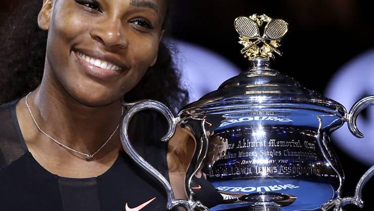 Serena Williams kehrt nach der Geburt ihres ersten Kindes noch Ende Jahr in Abu Dhabi auf denn Tenniscourt zurück