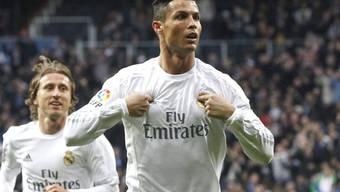 Cristiano Ronaldo entschied einmal mehr eine Partie für Real Madrid
