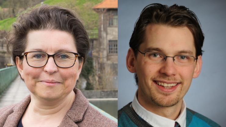 Gleich zwei wollen das Gemeindepräsidium: Sandra Morstein (SP, Gemeindepräsidentin ad interim) und Ulrich Kammer (parteilos, Ersatzgemeinderat).
