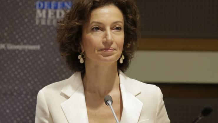 Die Generaldirektorin der Unesco, Audrey Azoulay, fordert mehr Investitionen in Bildung. (Archivbild)