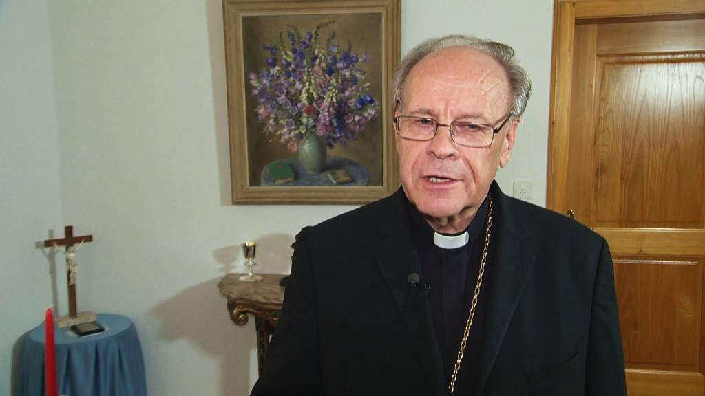 Bischof Huonder bleibt vorläufig im Amt