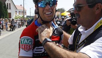Erhält nach seinem Sturz in der 9. Etappe der Tour de France medizinischen Support: Richie Porte