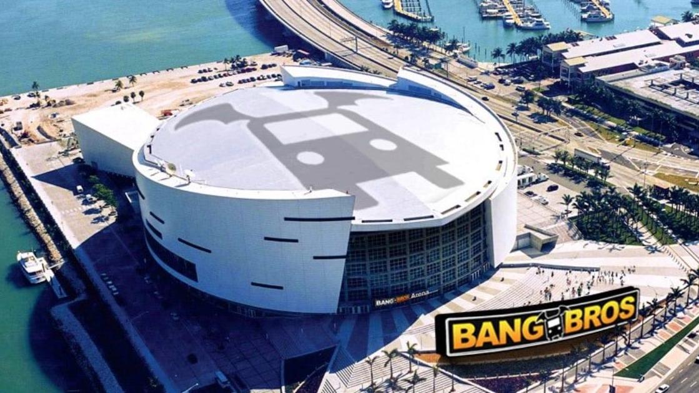 «BangBros» will ab nächster Saison das Stadion der Miami Heat zieren.