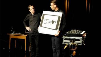 Zwei, die gerne gemeinsam auf der Bühne stehen: Kilian Ziegler (links) und Samuel Blatter.