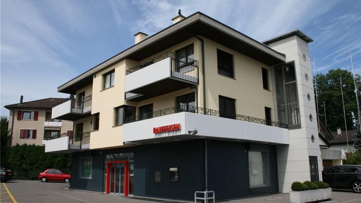Die Filiale der Raiffeisenbank Mutschellen-Reppischtal in Rudolfstetten. Archiv